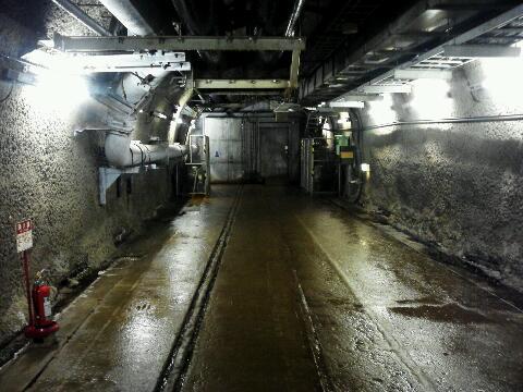 青函トンネル 展示 二