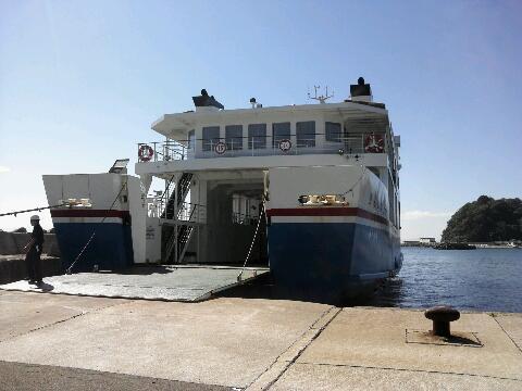 津軽海峡のフェリー
