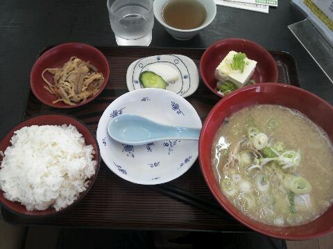 タラ汁定食