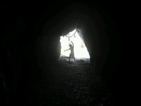 洞窟の怪物