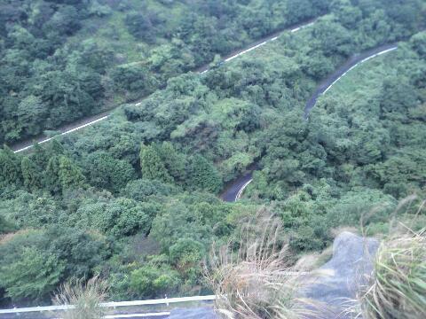 大阪峠 道