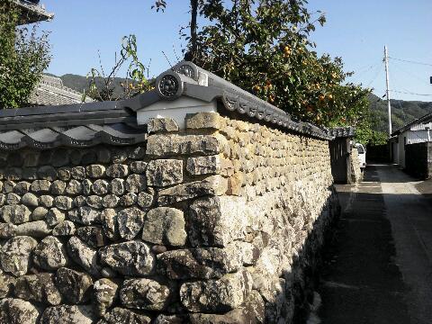 吉良川 石垣