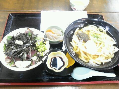 土佐丼定食
