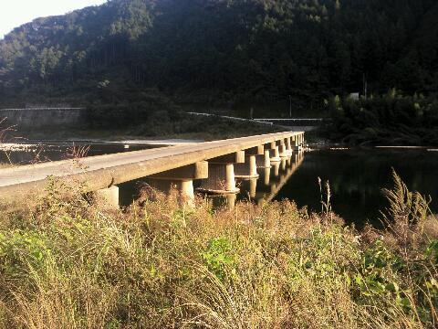仁淀川 沈下橋②