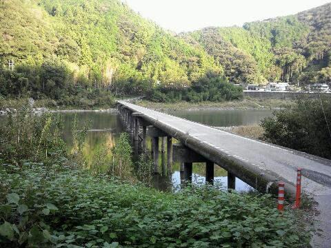 仁淀川 沈下橋①