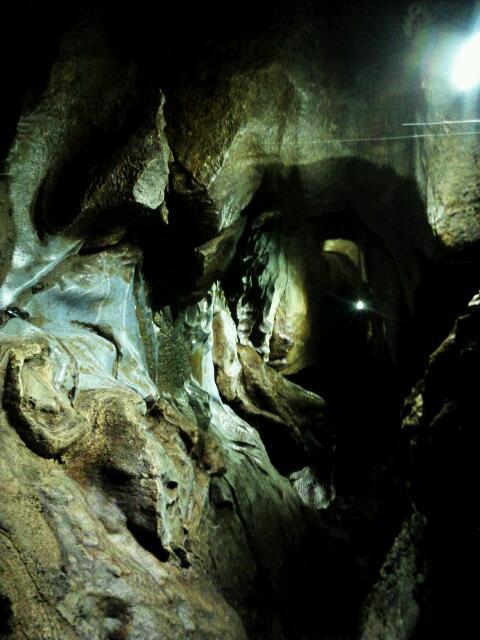 洞窟探検②