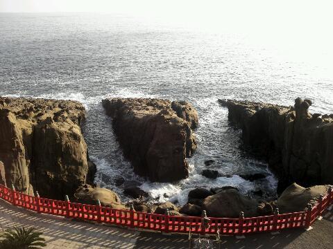 鵜戸神宮 海