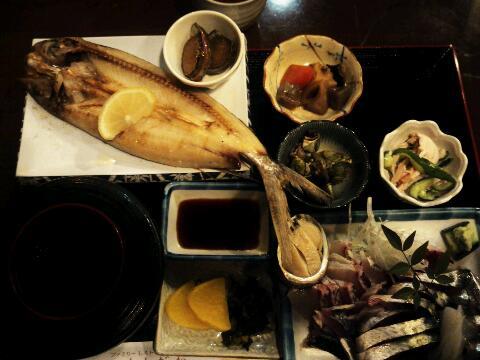 屋久島 刺身定食