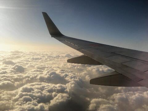 飛行機 フライト中
