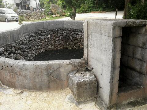 竹富島 井戸