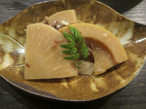 筍と牛肉の煮込み