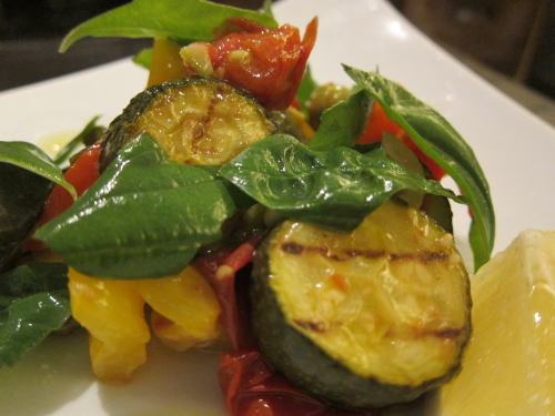 夏野菜のさっぱりマリネ