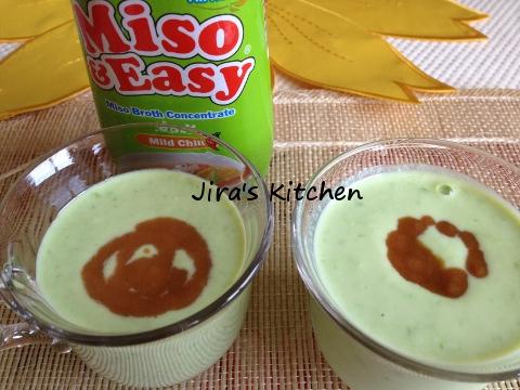 冷製枝豆クリーミースープ