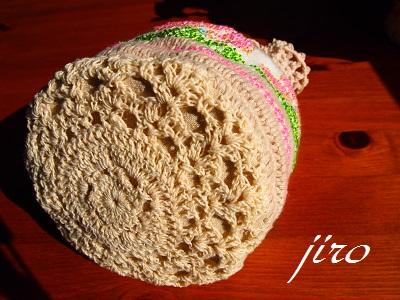 ビーズ編みバッグ-ラトビアミトン模様の巾着8