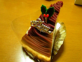 ガトーあらまきのケーキ4