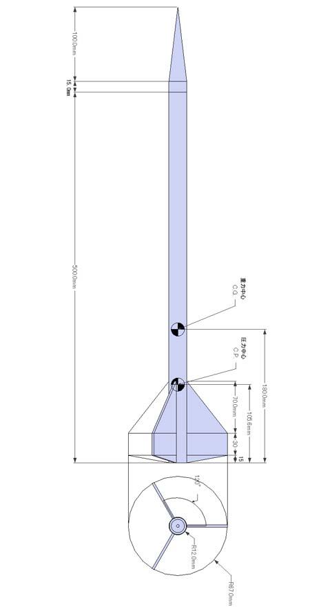 ロケット基本設計