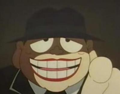 笑うセールスマン