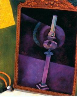Marc Chagall_Mirror