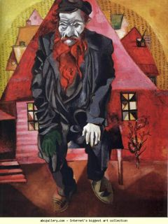 Marc Chagall_Red Jew