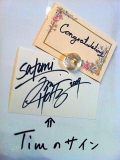 Timのサイン