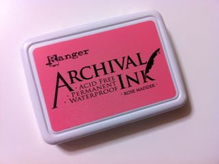 archival ink_rose madder
