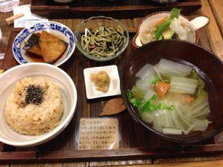 玄米カフェランチ