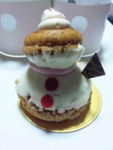 $Juanaの歌-雪だるまのケーキ
