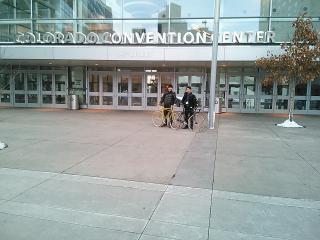 会場のコロラドコンベンションセンター