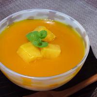 マンゴーのレアチーズ