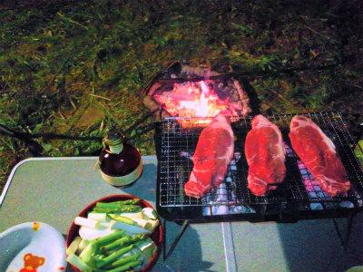 工藤夫妻と焼肉