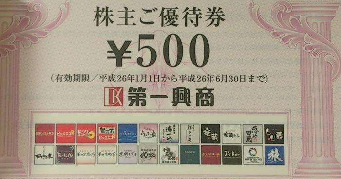 第一興商201309500