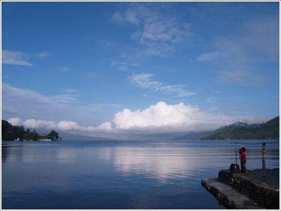 インドネシア・トバ湖