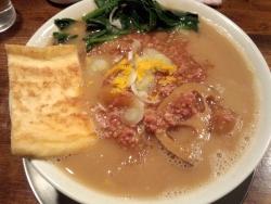 冬の和らー麺