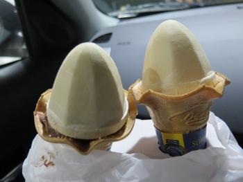ミニストップのソフトクリーム