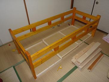 ベッド製作2011122402