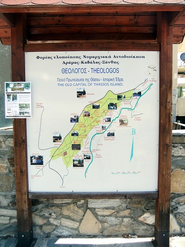 タソス_テオロゴスの地図