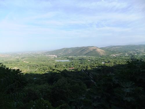エデッサ_滝付近からの眺め
