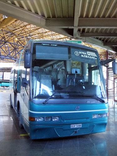 エデッサ行きのバス