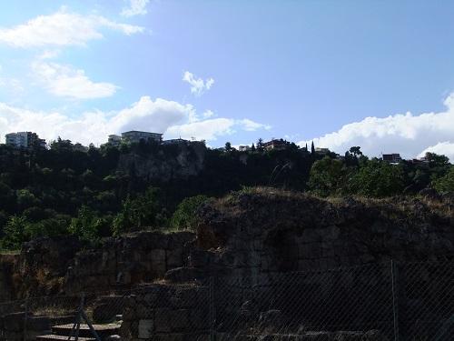 古代遺跡から見るエデッサの街