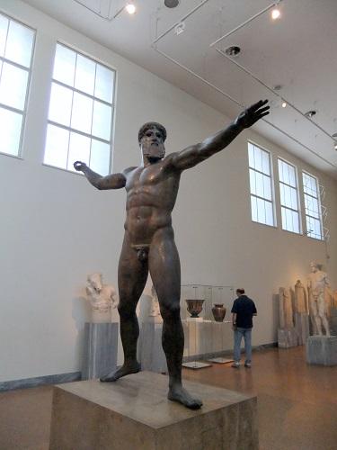アテネ_「ポセイドン像」