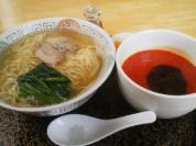 らーめんキッチンNaru-to 香味塩つけ麺(温盛)