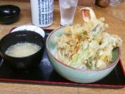 福田屋 野菜と海老天丼