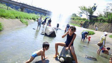 山鹿 水遊び公園