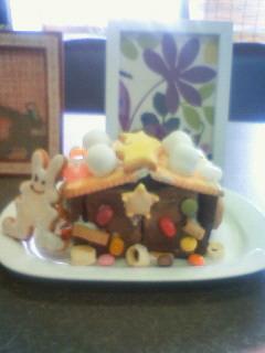 お菓子の家見本