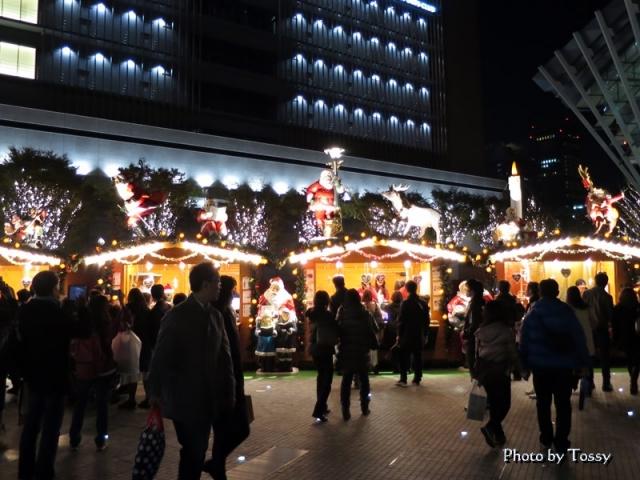 うめきた広場クリスマスマーケット