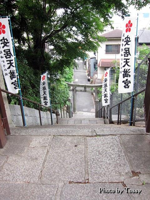 安居神社西門