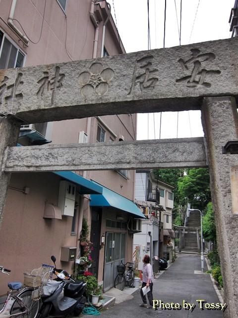 西の入口の鳥居