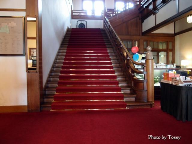 奈良ホテル大階段