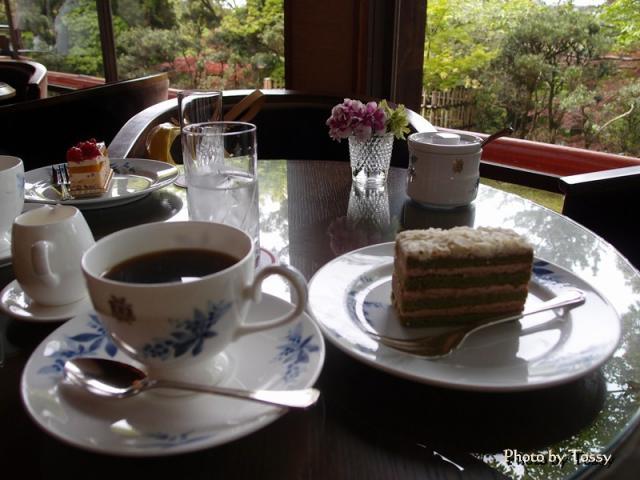 奈良ホテル ケーキセット
