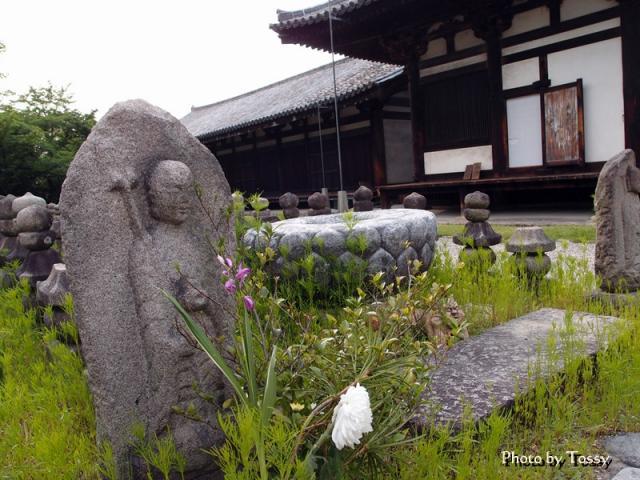 石仏と極楽堂 禅室
